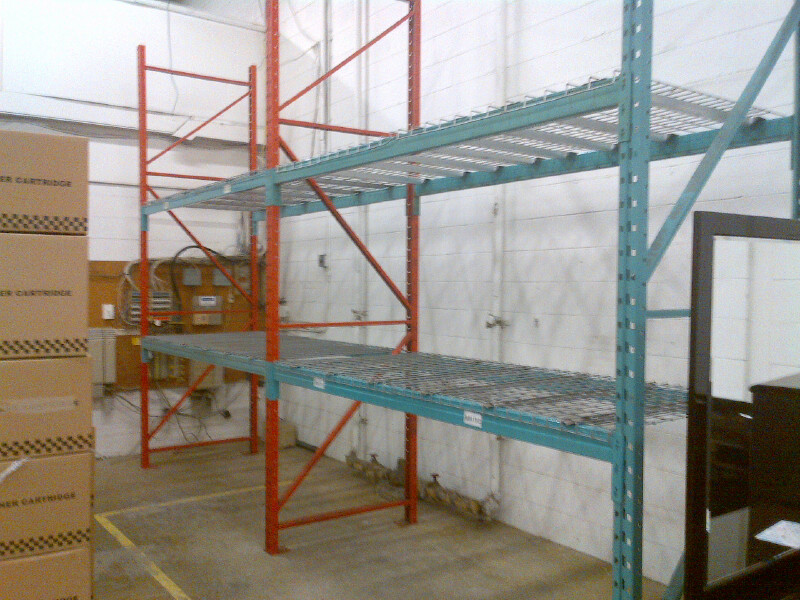 small orders pallet rack