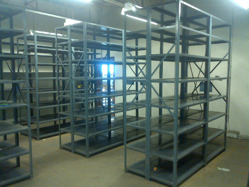 Used Industrial Shelving